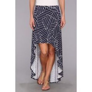Anthropologie Skirts - Trendy Jersey High Low Asymmetrical Skirt